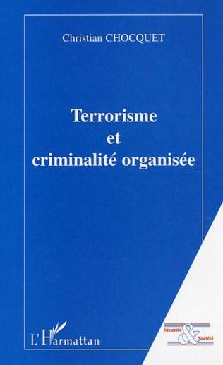 Couverture Terrorisme et criminalité organisée