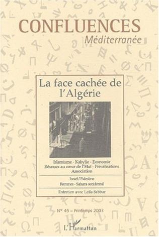 Couverture La face cachée de l'Algérie