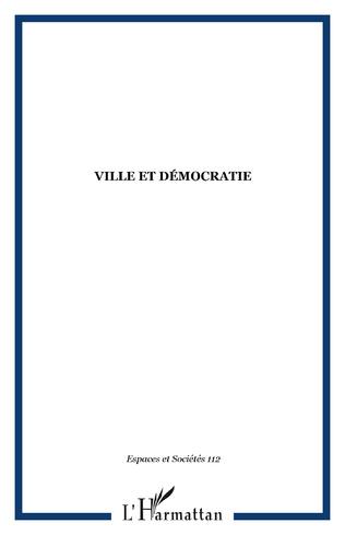 Couverture Ville et démocratie