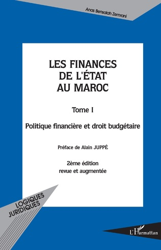 Couverture Les finances de l'état au Maroc tome 1