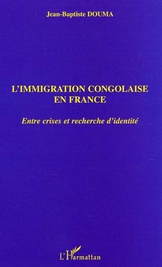 Couverture L'immigration congolaise en France