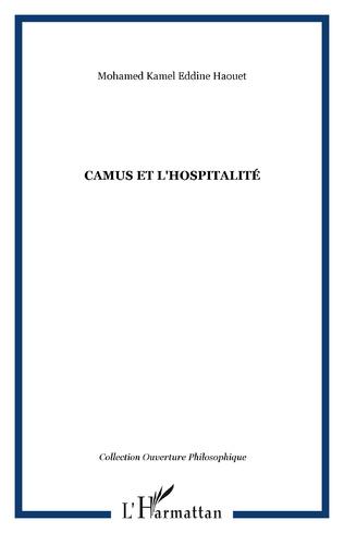 Couverture Camus et l'hospitalité