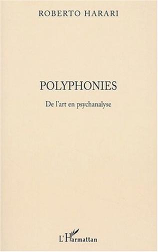 Couverture Polyphonies De l'art en psychanalyse
