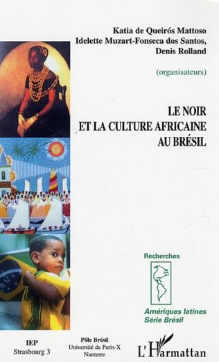 Couverture Le Noir et la culture africaine au Brésil