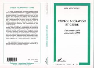 Couverture Emploi migration et genre