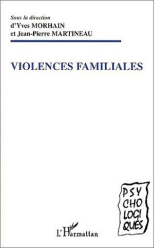 Couverture VIOLENCES FAMILIALES