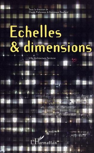 Couverture Echelles et dimensions
