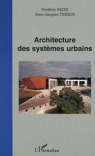 Couverture Architecture des systèmes urbains