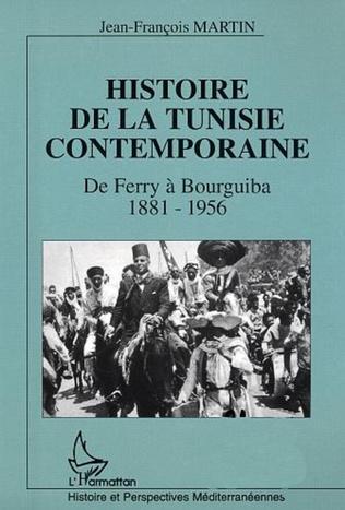 Couverture Histoire de la Tunisie contemporaine
