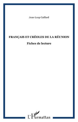 Couverture Français et Créoles de la Réunion