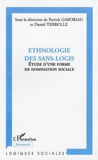 Couverture Ethnologie des sans-logis