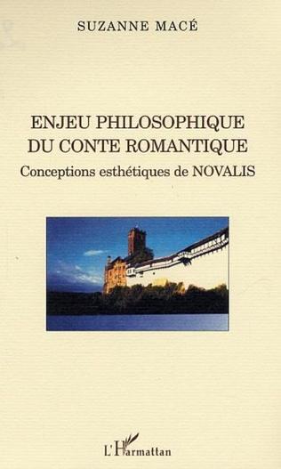 Couverture Enjeu philosophique du conte romantique