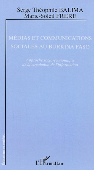 Couverture Médias et communications sociales au Burkina Faso