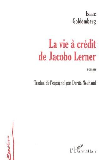 Couverture La vie à crédit de Jacobo Lerner
