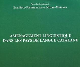 Couverture Aménagement linguistique dans les pays de langue catalane