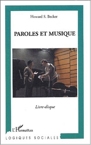 Couverture Paroles et musique