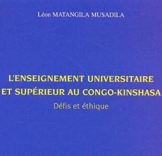 Couverture L'enseignement universitaire et supérieur au Congo-Kinshasa
