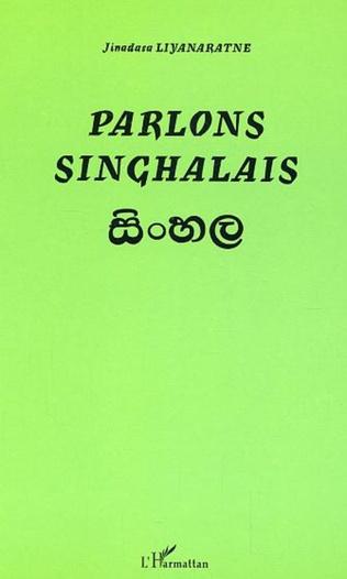 Couverture Parlons Singhalais
