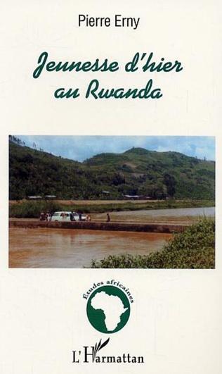 Couverture Jeunesse d'hier au Rwanda