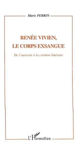 Couverture Renée Vivien, le corps exsangue