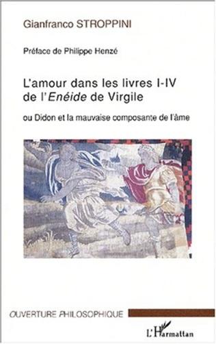 Couverture L'amour dans les livres I-IV de l'Enéide de VIrgile