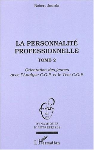 Couverture La personnalité professionnelle