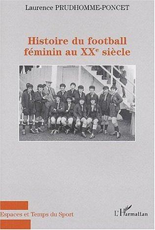 Couverture HIstoire du football féminin au XXème siècle