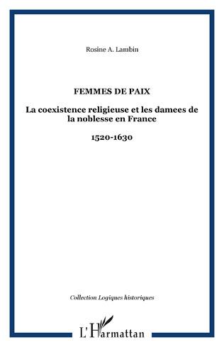 Couverture Femmes de paix
