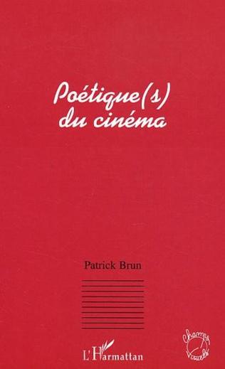 Couverture Poétique(s) du cinéma