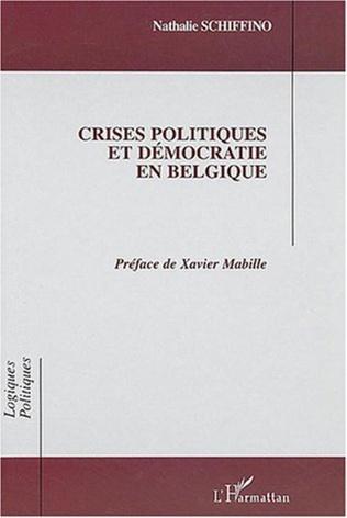 Couverture Crises politiques et démocratie en Belgique