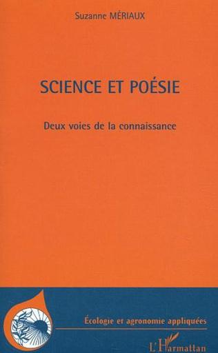 Couverture Science et poésie