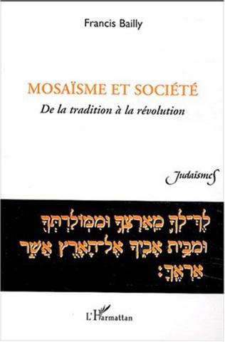 Couverture Mosaïsme et société