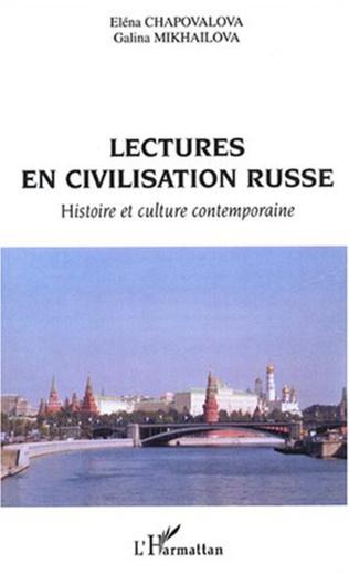Couverture Lectures en civilisation russe