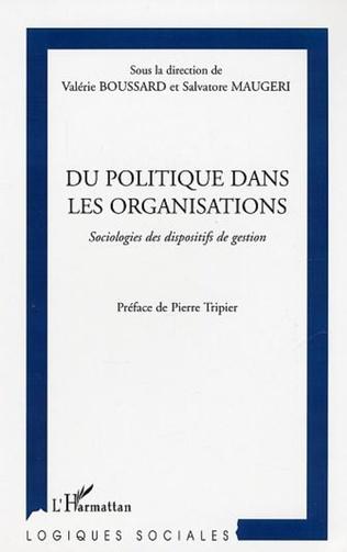 Couverture Du politique dans les organisations