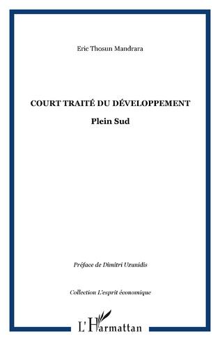 Couverture Court traité du développement