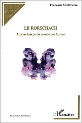 Couverture Le Rorschach