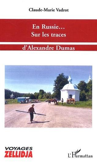 Couverture En Russie... sur les traces d'Alexandre Dumas