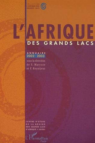 Couverture Annuaire 2002-2003