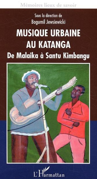 Couverture Musique urbaine au Katanga