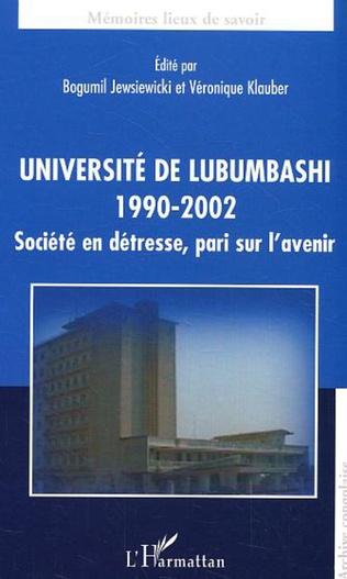Couverture Université de Lubumbashi