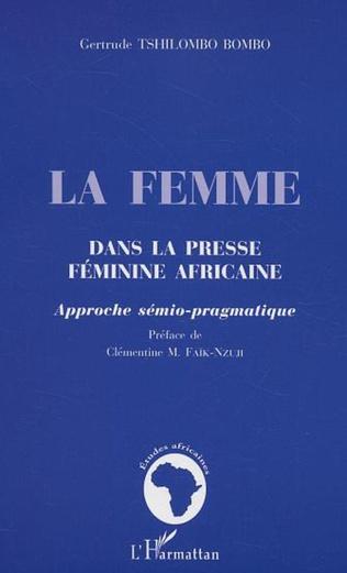 Couverture La femme dans la presse féminine africaine