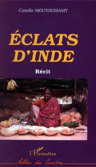 Couverture Eclats d'Inde