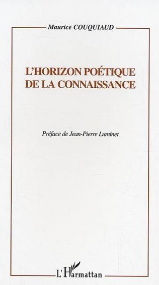 Couverture L'horizon poétique de la connaissance