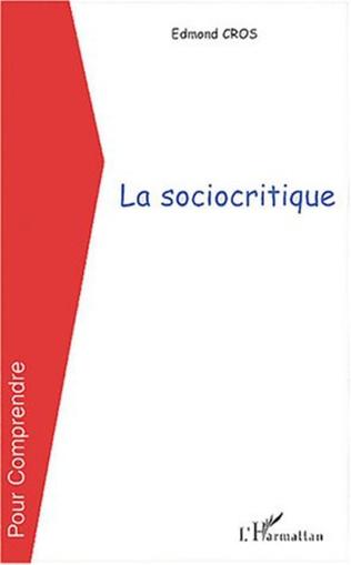 Couverture La sociocritique