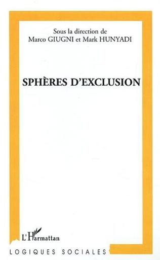 Couverture Sphère d'exclusion