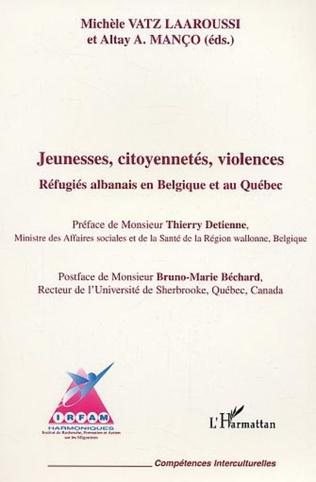 Couverture Jeunesses citoyenneté violences