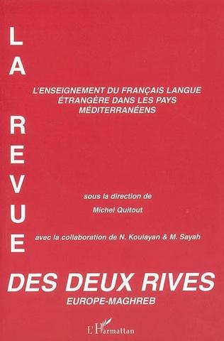 Couverture L'enseignement du français langue étrangère dans les pays méditerranéens