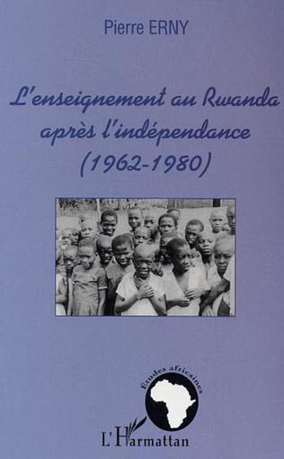 Couverture L'enseignement au Rwanda après l'indépendance