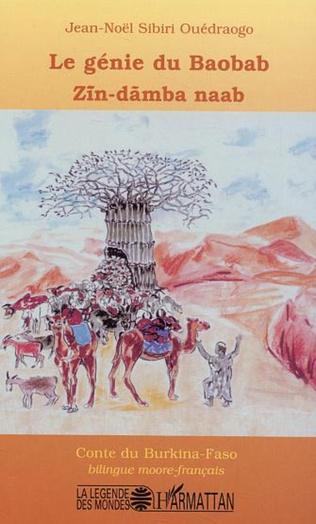 Couverture Le génie du baobab - ZIN-DAMBA NAAB
