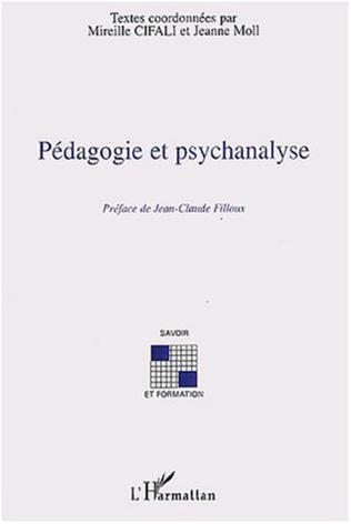 Couverture Pédagogie et psychanalyse